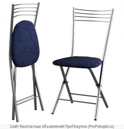Табуреты и стулья складные, столы