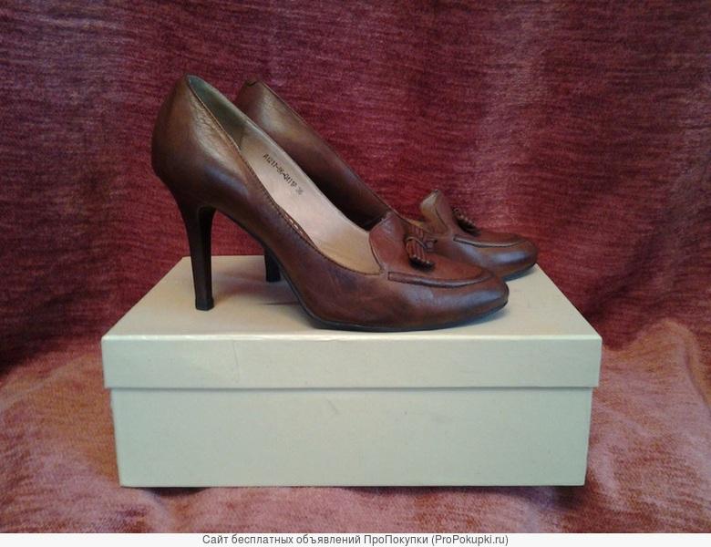 Туфли кожаные Passo Avanti