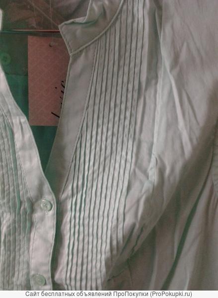 Блузка ментоловая