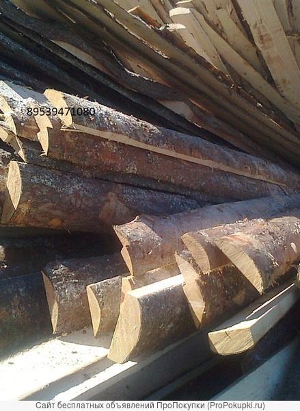 горбыль крупный дрова тюльки,колотые пиленый 50-60см