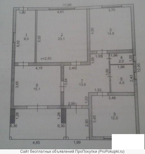 Дом 120 м2 на участке 5,1 сотки снт Содружество / 9 линия