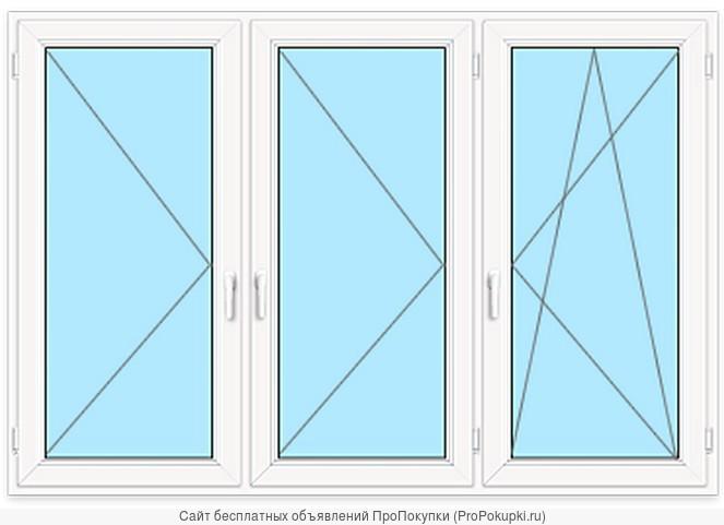 Новые пластиковые окна