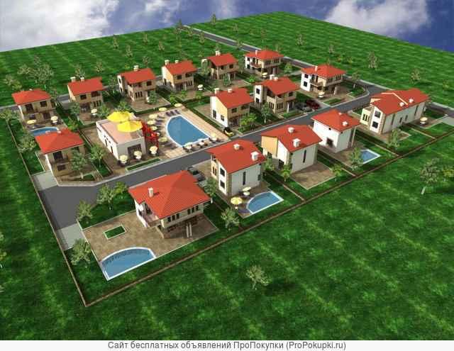 Инвестиционная земля, 28 дома, моря, Солнечный берег