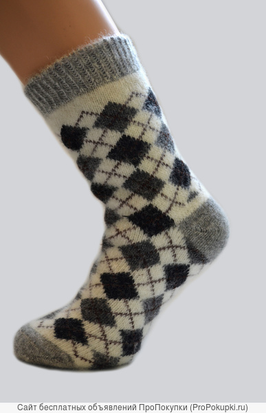 Богатый ассортимент шерстяных носков от производителя