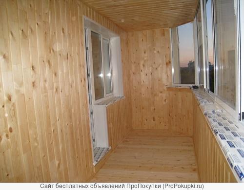 Остекление балконов, лоджий и установка окон пвх!