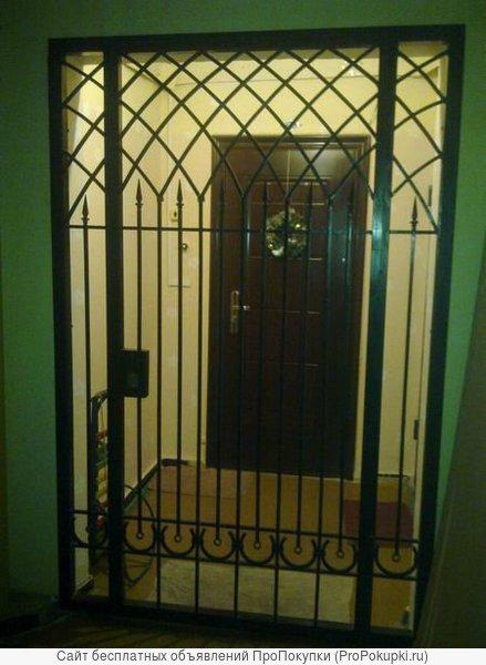 Дверь - решетка