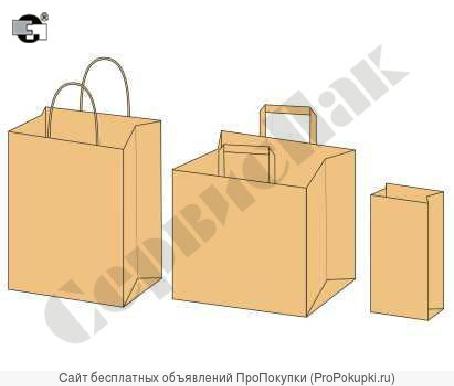 предлагаем изготовление бумажных пакетов