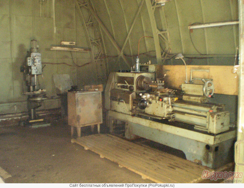 Тёплый производственный ангар 540м2 + территория в г. Богородск