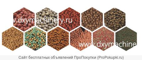 Линия для производства кормов для животных и рыбок