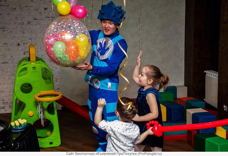 Аниматоры. Шоу мыльных пузырей в Омске