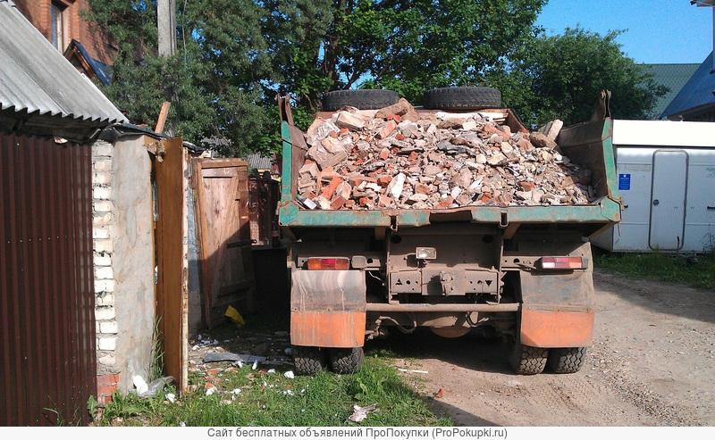 Грузчики. Вынос и вывоз строительного мусора