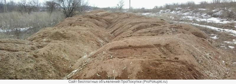 Минизавод производства сыпучих удобрений из лежалого помета