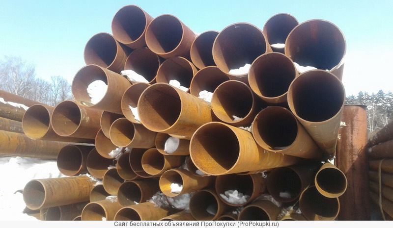 Труба лежалая 219х5-6 мм