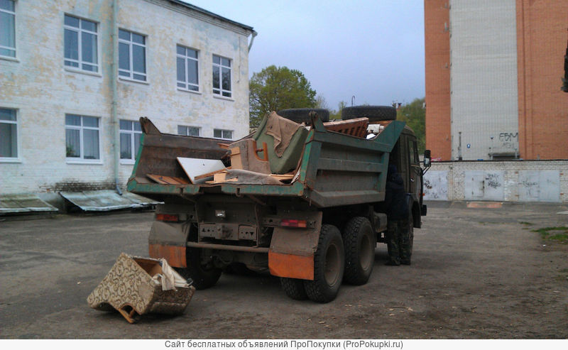 Вывоз и утилизация мебели,быт.техники, сан.техники и прочего хлама