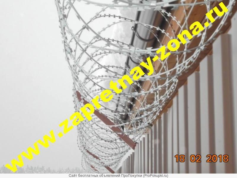 Монтаж и продажа колючей проволоки Егоза в Туле