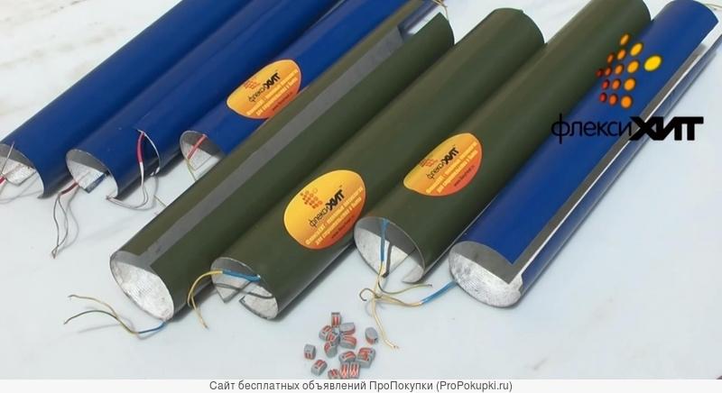 Пленочные поверхностные нагреватели «ФлексиХИТ» для прогрева труб