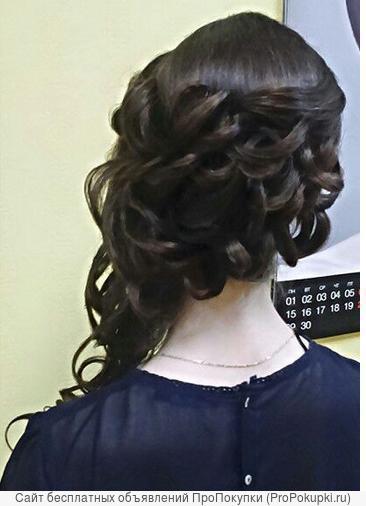 Обучение прическам, плетение кос