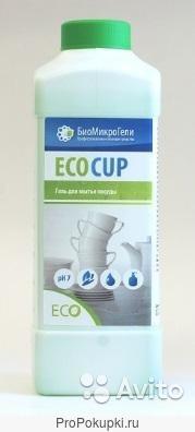 Экокап/EcoCup, 1л. Гель для мытья посуды