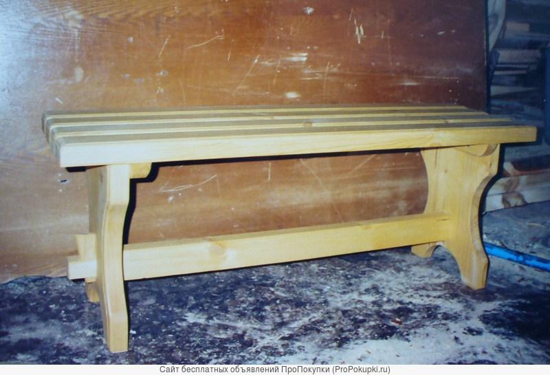 Продаю скамью из натурального дерева