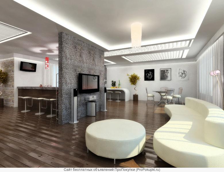 Ремонт квартир, домов, офисов под ключ