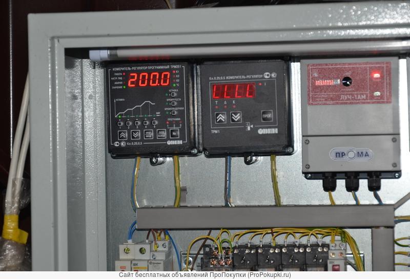 Оборудование для термообработки бруса хвойных/лиственных пород