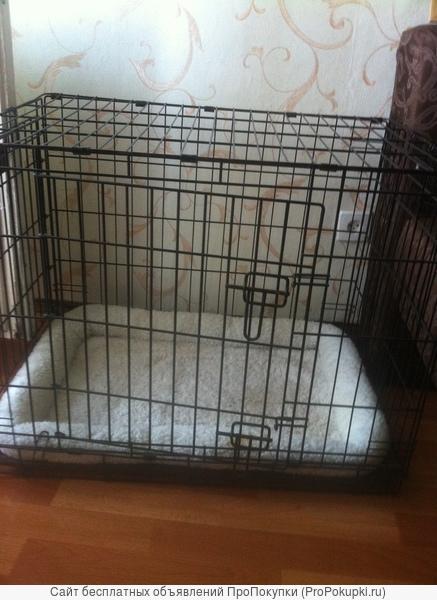 Клетка для собак с поддоном