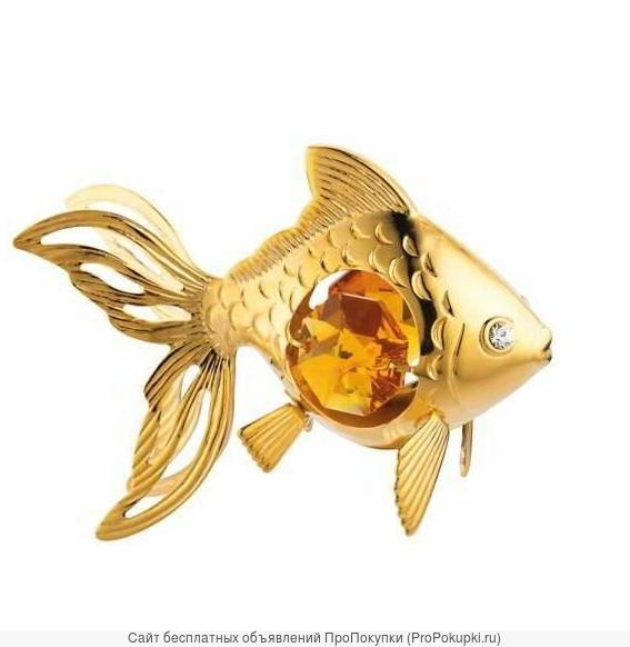 Золотая золотая рыбка предназначена для выполнения желаний