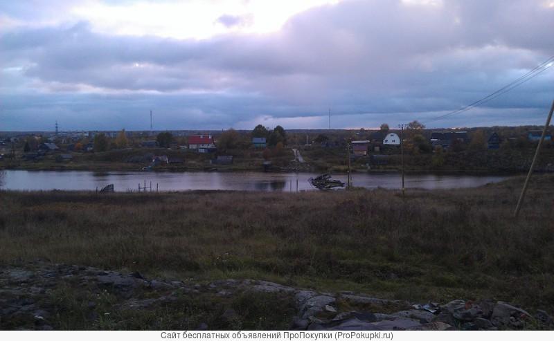 Продам участок в собственности в Карелии с видом на Онежское озере