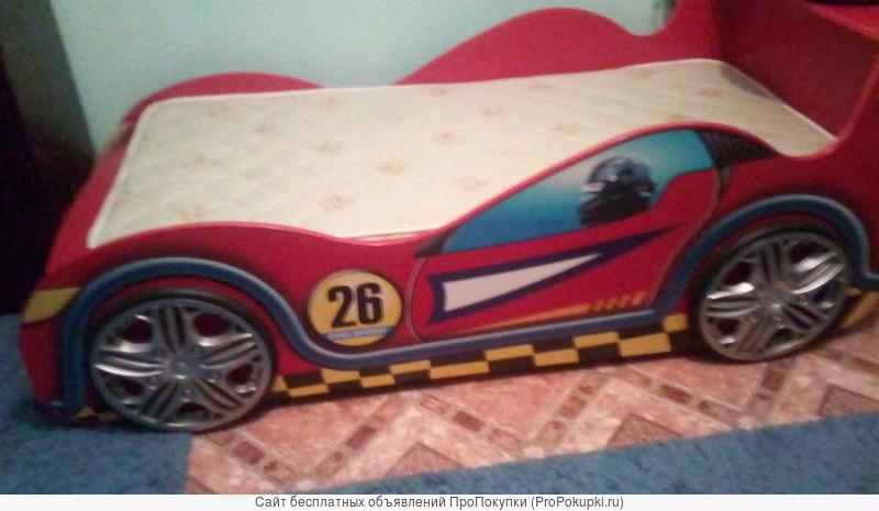 Продается новая кровать - машинка для детей - подростков
