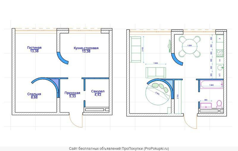 Элитная квартира с окнами на Томь