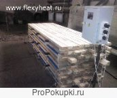 Быстрая сушка леса с нагревателями «Флекси ХИТ»