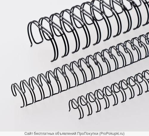 Металлические переплётные пружины:шаг 3:1 (формат А-4)