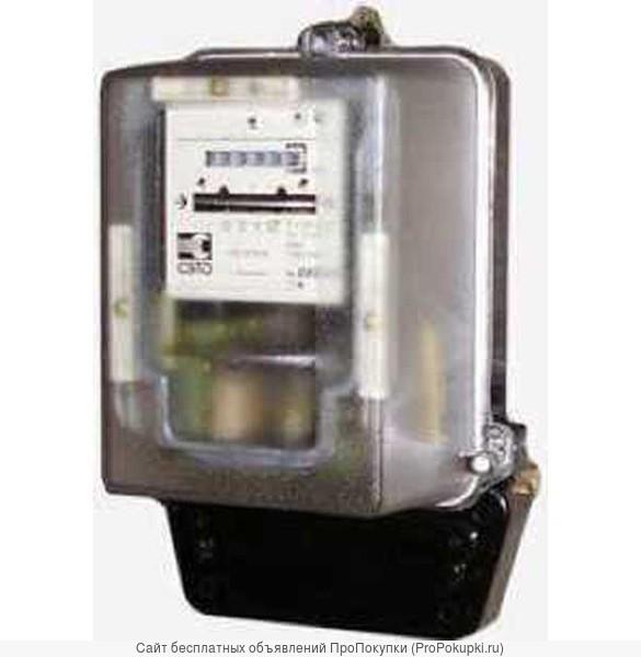 Счетчик 3х фазный индукц. СА4 И678 380в активный,прямоточный