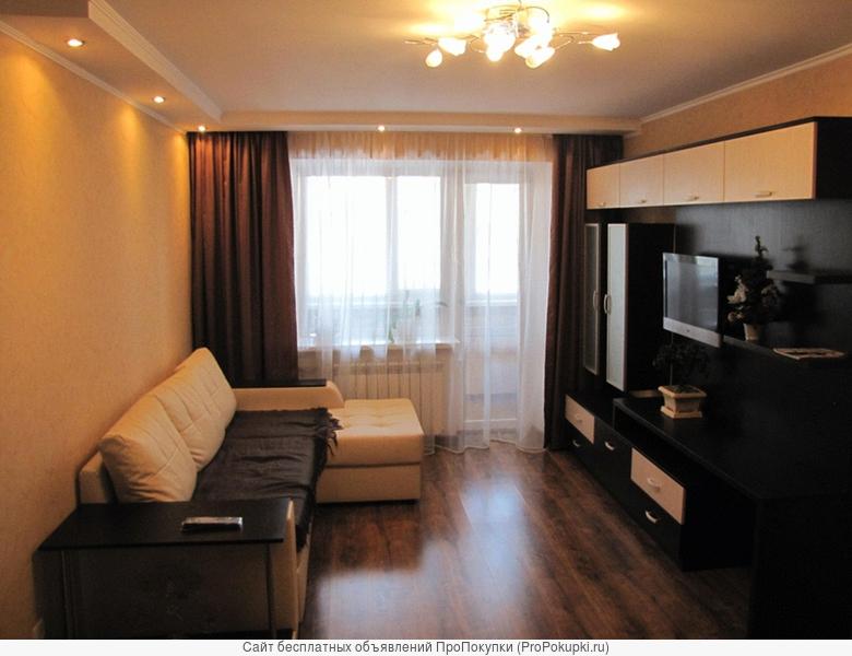 сдам двух комнатную квартиру с свежим евро ремонтов в садовом