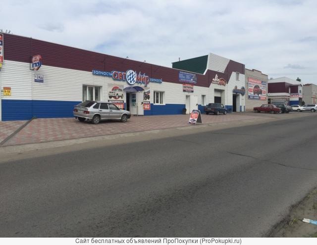 Продаю Действующий Автосервис в Алтайском крае