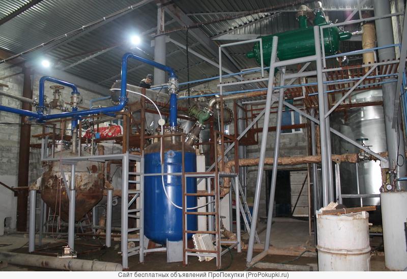 Построю производство рециклинга химических отходов