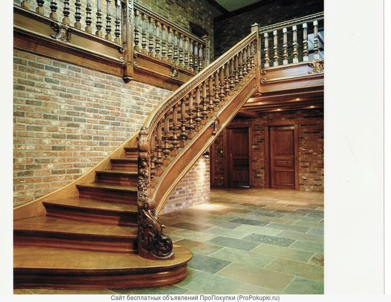 Лестницы любой сложности.