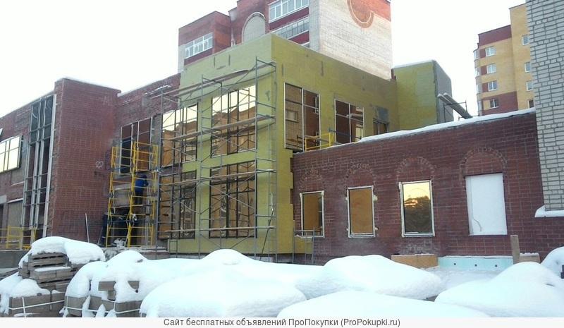 Алюминиевые фасады .панорамное остекление витражей