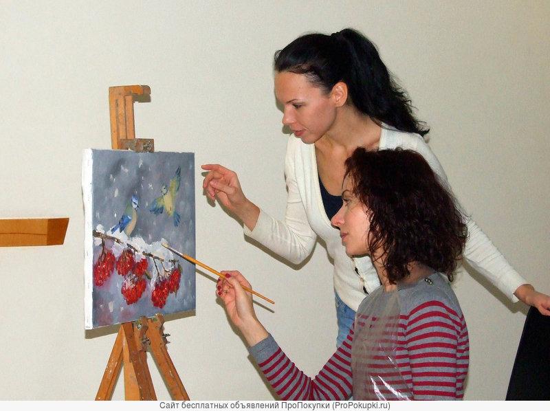 Занятия рисованием и живописью в Казани
