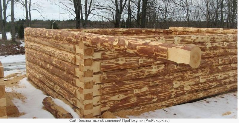 Срубы 5х5 5х6 6х6 6х7 6х8 7х8 7х9 8х10 сосновые,новые для дома