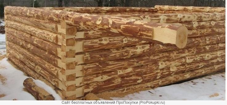 Срубы из Бурзянскогорайона сосновые для домов любого размера. Новые