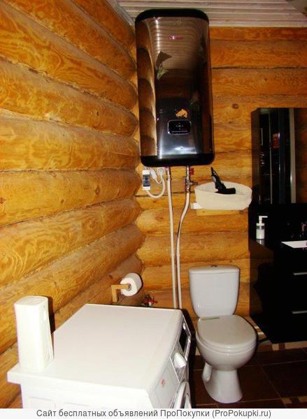 Уютный домик с русской баней