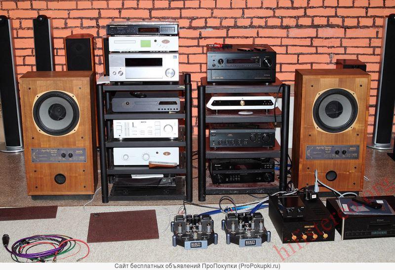 аудиотехнику hi-fi колонки, усилители, ресиверы