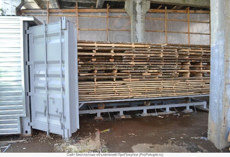 Распродажа камер сушки древесины и ТМД(термомодификации) древесины- новых и б/у