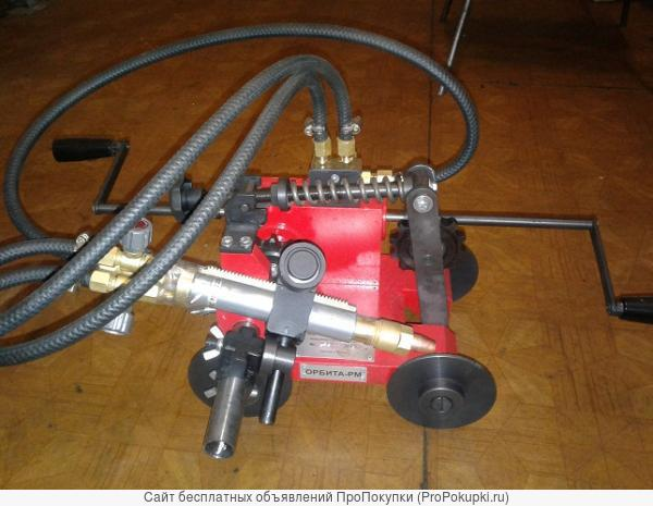 Машина для газовой резки стальных труб Орбита