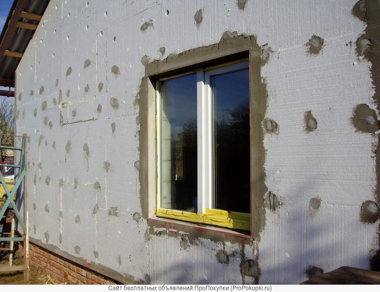 утепление фасадов и домов