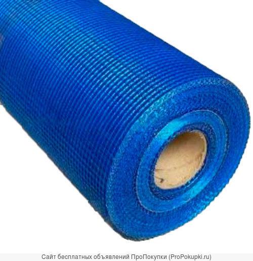Стеклосетка штукатурная ССШ-160 50м2, РБ (Полоцкая) синяя