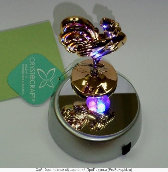 Светящаяся подставка 6 см. с батарейками ДЛЯ