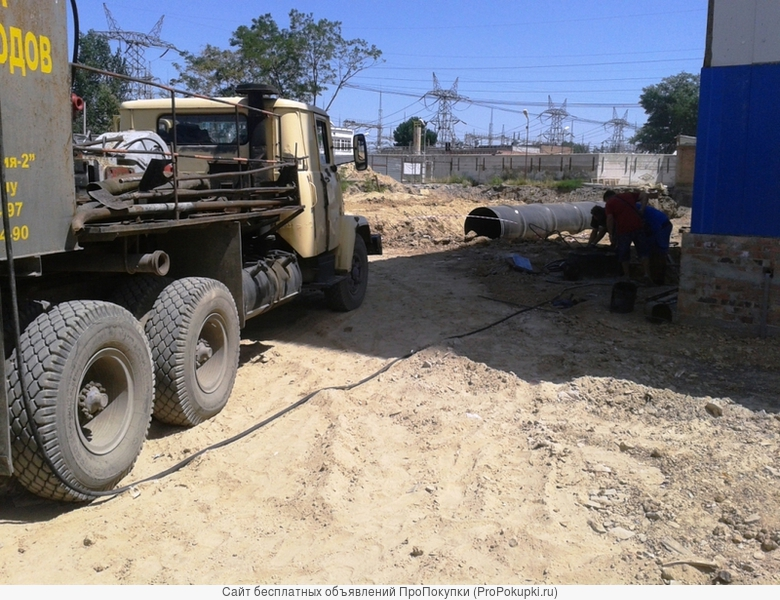 Комплексная прочистка систем канализации и ливнестоков