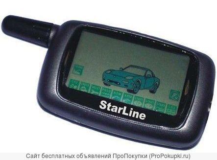 Брелок — пейждер StarLine А8/А9 (пульт ДУ)